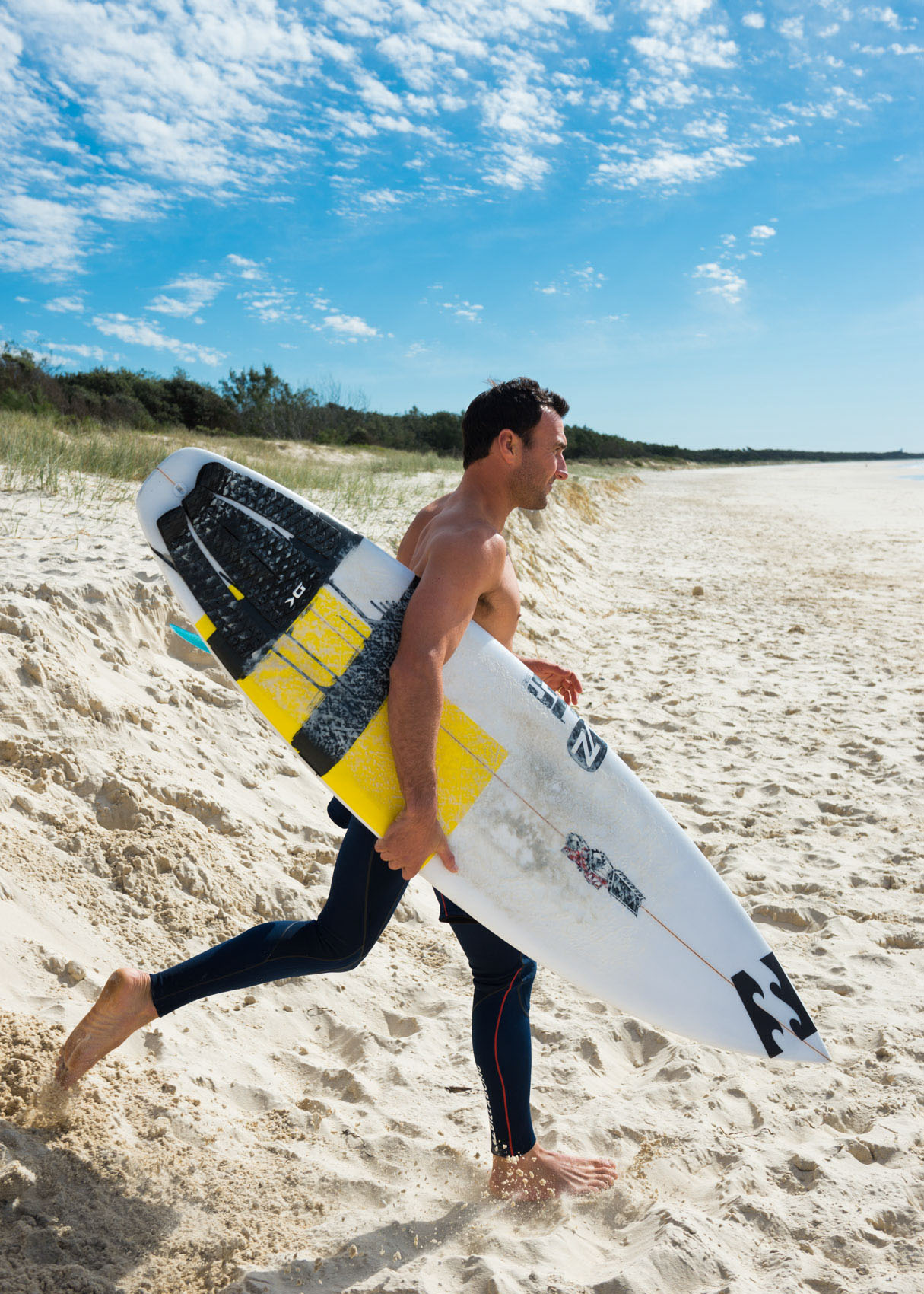 O18-190 Joel Parkinson at Cabarita beach