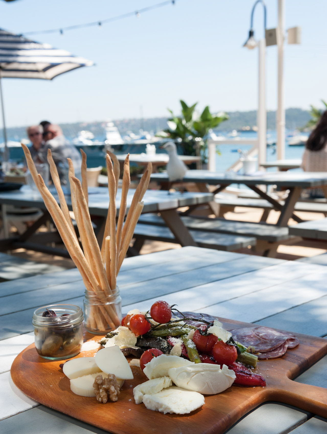 O18-420 outdoor antipasti Watsons Bay, Sydney